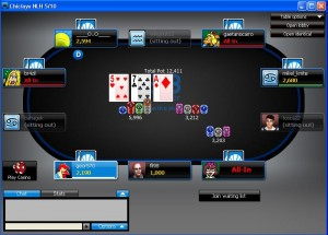 Mesa de 888 Poker