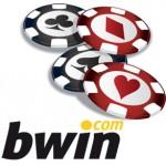 Logo de Bwin con fichas