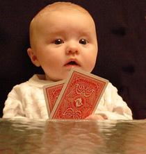 Bebé Jugando Póker