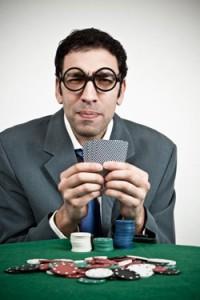 Nerd Jugando Poker