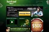 Pagina de inicio de Party Poker