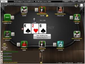 Mesa de Titan Poker